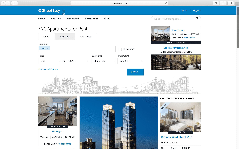 Недвижимость: Лучшие приложения и сайты аренды квартир в Нью-Йорке рис 5