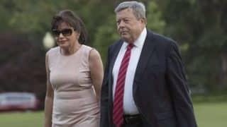 Родители Мелании Трамп получили вид на жительство в США благодаря «цепной миграции»